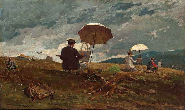 640px-Winslow_Homer_-_Artists_Sketching_in_the_White_Mountains